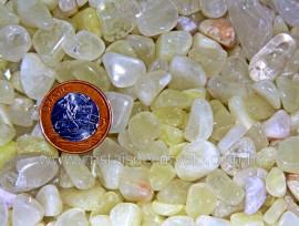 Enxofre Natural Medio Rolado Pacotinho 20Gr Comum Qualidade Pedra de Garimpo
