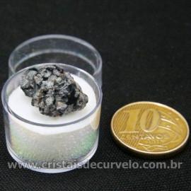 Obsidiana Flocos de Neve Pedra Natural Amostra Estojo Cod 126976