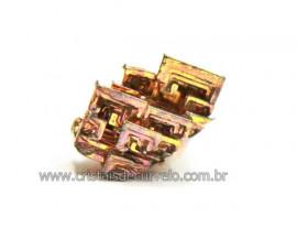 Bismuto Mineral ou Bismuth Stone Pedra Natural Cod BB6633