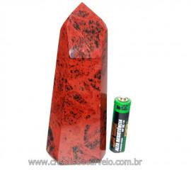 Ponta Obsidiana Mahogany ou Mogno Pedra Vulcanica Cod PM4463