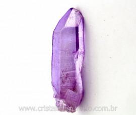 Ponta Crystal Aura Purple Flame ou Lilas Bruta Cod AL9890
