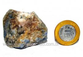 Safira Pedra Natural Matriz Corindon Bruto Garimpo Cod SB8698