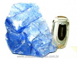 Quartzo Azul ou Aventurina Azul Pedra Bruto Natural Cod QA6516