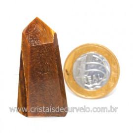 Ponta Olho de Tigre Pedra Extra Natural de Garimpo Cod 119111