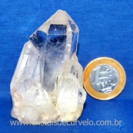 Drusa Cristal Pedra Quartzo Natural Boa Qualidade Cod 123635