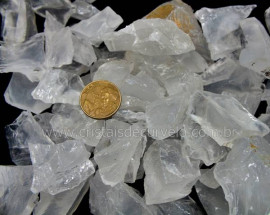 3 KG Cristal Opalado cascalho Bruto pra Orgonite Reff CO4297