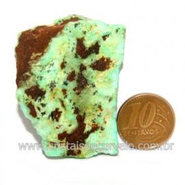 Crisoprasio Bruto Natural Pedra Familia da Calcedonia Cod 123172