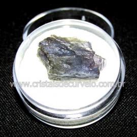 Safira D'Água Pedra Genuina P/ Coleçao no Estojo Cod 114732