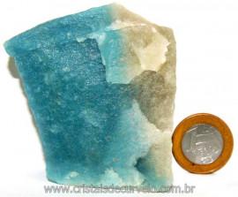 Quartzo Azul Paraíba pedra Rara Para Coleção Cod 108884