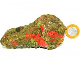 Unakita Pedra Bruta Natural De Garimpo Boa Cor Cod UB3388