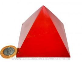 Piramide Jaspe Vermelho Lapidação Baseada Queops Cod PJ9502