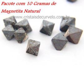 Magnetitas Pacote 10 Gramas Mineral Natural Para Coleção Pedras Naturais Cod 10