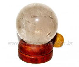 Esfera Quartzo Tok Fumê Extra Qualidade Natural Cod EF6850