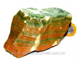 Dolomita Verde Pedra Natural Bruto de Garimpo Cod DV6052