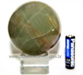 Esfera Aragonita Verde Natural Tamanho Médio Cod 110258