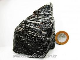 Jaspe Net Pedra Tamanho Pequeno de Garimpo Com Listas Natural Cor Cod 263.2