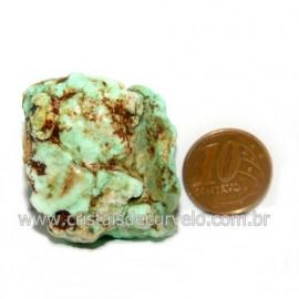 Crisoprasio Bruto Natural Pedra Familia da Calcedonia Cod 123169
