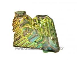 Bismuto Mineral ou Bismuth Stone Pedra Natural Cod BB8424