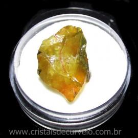 Opala Verde Pedra Genuina Para Coleçao no Estojo Cod 115870