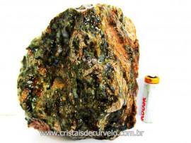Riolita Rocha Vulcanica Pedra de Garimpo Bruto Mineral de Coleção cod 685.9