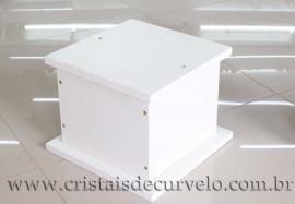 Pedestal Base ou Suporte P/Esfera ou Ponta em Mdf Reff 109099