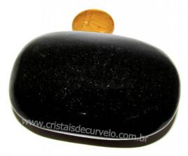Sabonete Massageador Quartzo Preto Pedra Natural Cod SP4643