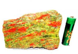 Unakita Pedra Bruta Natural De Garimpo Boa Cor Cod UB4719