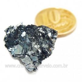Galena Pedra Bruto Mineral Fonte Chumbo e Prata Cod 124236