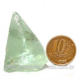 Obsidiana Verde Pedra Vulcanica Ideal P/ Coleçao Cod 128433