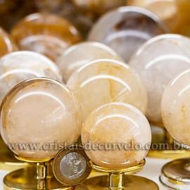 1 Kg Esfera Bola Hematoide Amarelo Natural ATACADO 112694