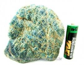 Apatita Azul Em Bruto Pedra Media  Para Esoterico ou Colecionador Cod 269.3