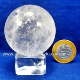 Bola Cristal Boa Qualidade Esfera Pedra Natural Cod 127551