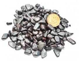 Hematita Rolado Miúda Pacotinho com 200Gr Pedra Natural HM2847