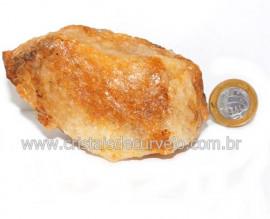 Hematoide Amarelo Pedra Bruto Quartzo Natural Cod 121522