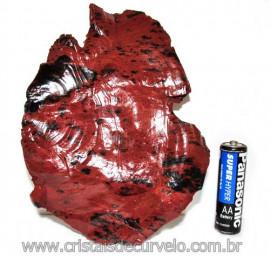 Obsidiana Mogno ou Mahogany Pedra Bruta Vulcanica Cod 115832