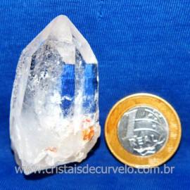 Lemuria Pequeno Quartzo Comum Cristal Lemuriano Natural Cod 119451