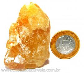 Calcita Mel Pedra Natural P/ Coleção e Esoterismo Cod 110322
