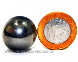 Esfera de Hematita Imantada Ideal Para Estoterismo Reff HI4696
