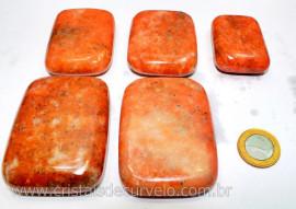 1 kg Massageador Sabonete Calcita Laranja Massagem Terapeutica Com Pedras