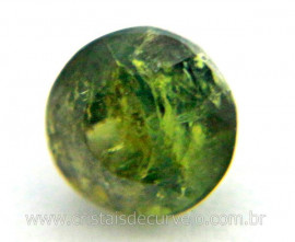 Gema Turmalina Verde Pedra Natural 0.4ct 4mm Reff TV9493