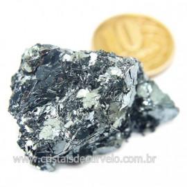 Galena Pedra Bruto Mineral Fonte Chumbo e Prata Cod 124245