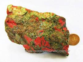 Unakita Pedra Natural De Garimpo Em Bruto Para Colecionador e Esoterismo Cod 258.3