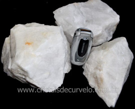QUARTZO LEITOSO Pedra Bruto Para Lapidar Pacote Atacado 5 kg