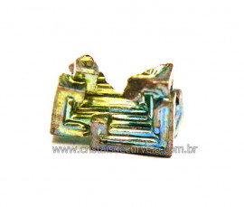 Bismuto Mineral ou Bismuth Stone Pedra Natural Cod BB4633