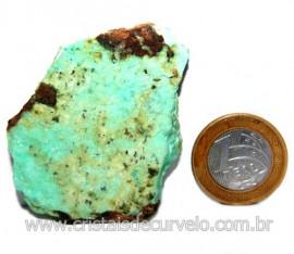 Crisoprasio Bruto Especial Pedra da Esperança Cod 119672
