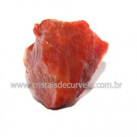 Cristal Quartzo Tangerina Pedra Bruto Natural Cod 118390