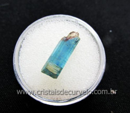 Cianita Azul Canudo Extra Natural No Estojo Para Colecionador Cod 8.6