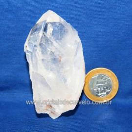Lemuria Pequeno Quartzo Comum Cristal Lemuriano Natural Cod 119433