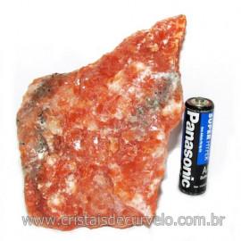 Calcita Laranja Mineral Bruto Natural Esoterismo Cod 117968