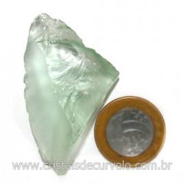 Obsidiana Verde Pedra Vulcanica Ideal P/ Coleçao Cod 128439
